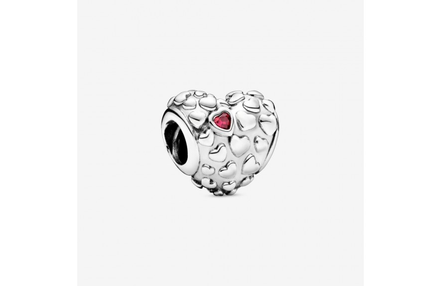 Pandora Mom In A Million Heart Charm