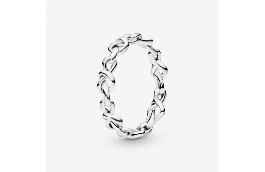 Pandora Knotted Hearts Ring