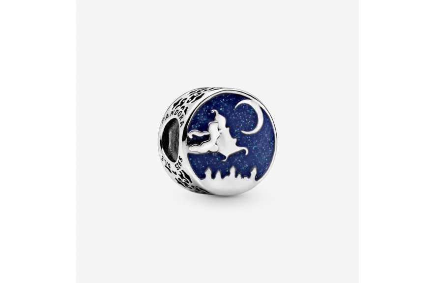 Pandora Disney Aladdin and Princess Jasmine Magic Carpet Charm