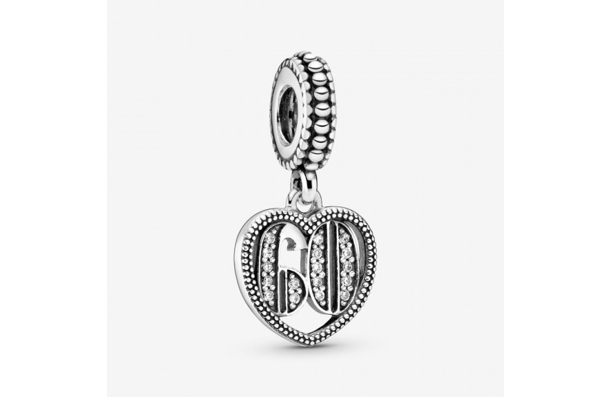 Pandora 60th Celebration Dangle Charm