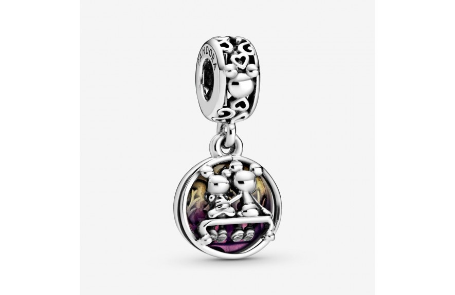 Pandora Disney Mickey Mouse & Minnie Mouse Happily Ever After Dangle Charm