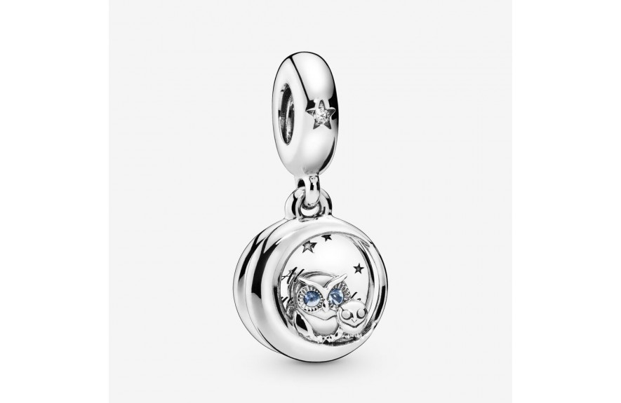 Pandora Always by Your Side Owl Dangle Charm