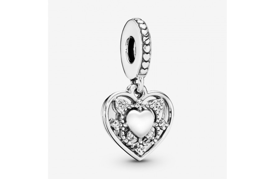 Pandora My Wife Always Heart Dangle Charm