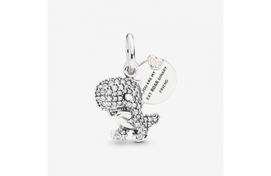 Pandora Pavé Dinosaur Dangle Charm
