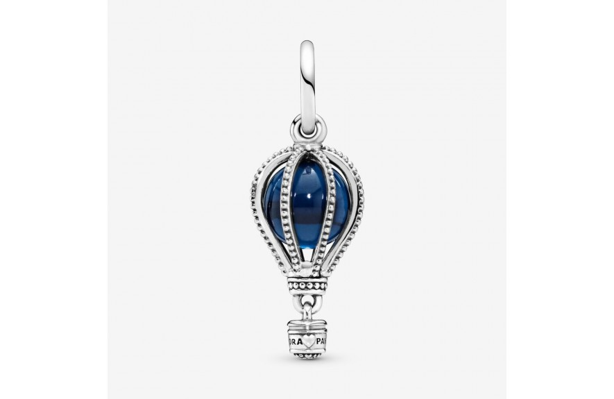 Pandora Blue Hot Air Balloon Travel Charm