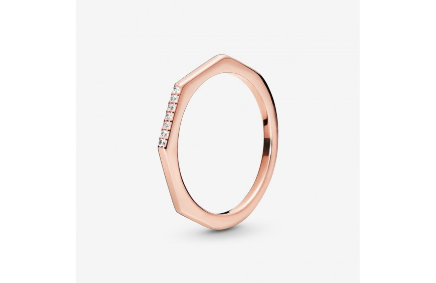 Pandora Multifaceted Ring Rose Gold