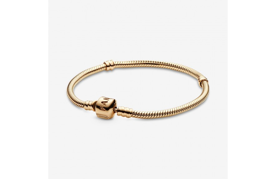 Pandora Moments Gold Clasp Bracelet Gold