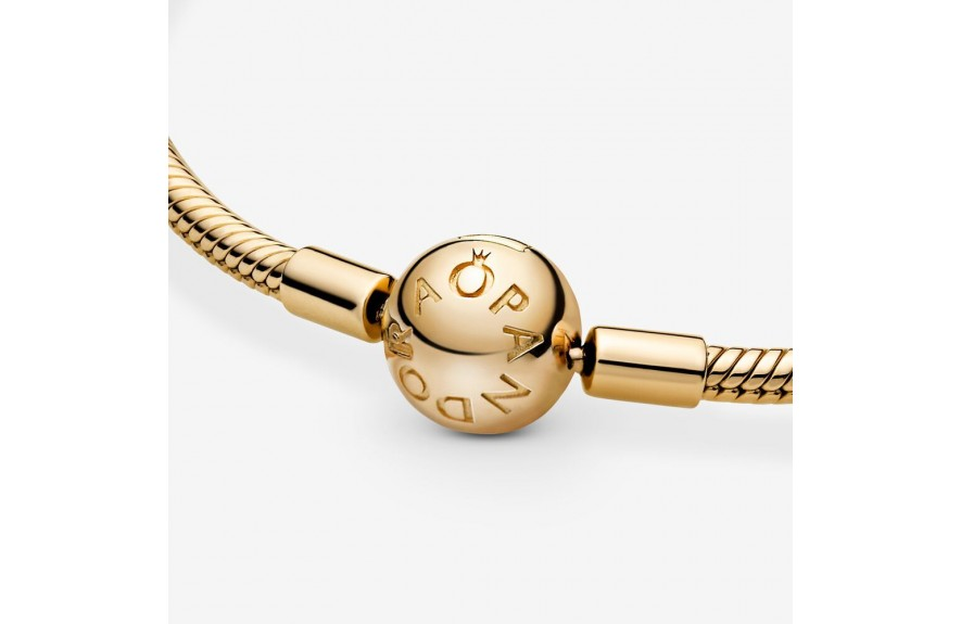 Pandora Pandora Moments Snake Chain Bracelet Gold