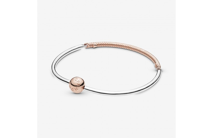 Pandora Pandora Moments Three-Link Bangle Two Tone